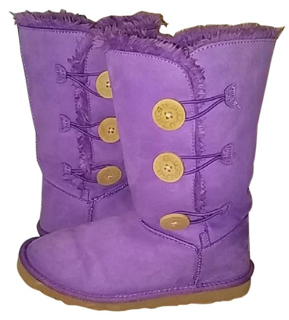 Item - Lavender Bailey Button Boots/Booties Size US 7 Regular (M, B)