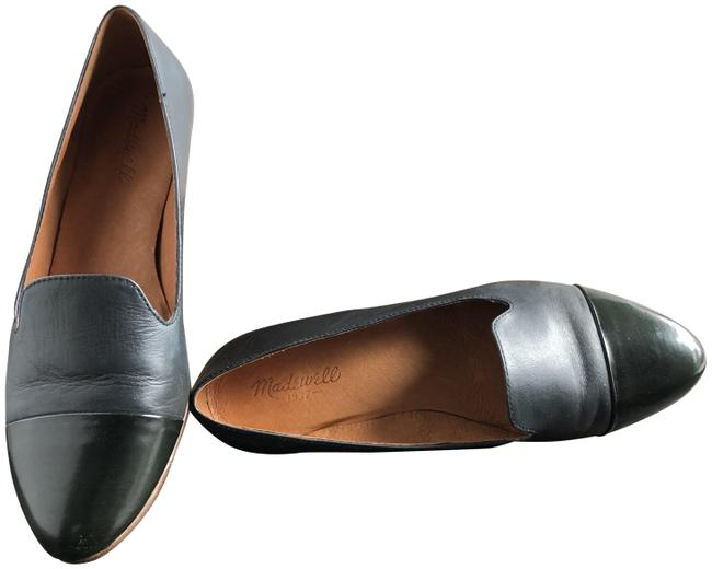 Item - Navy Classic Toe Leather Loafer Flats Size US 10 Regular (M, B)