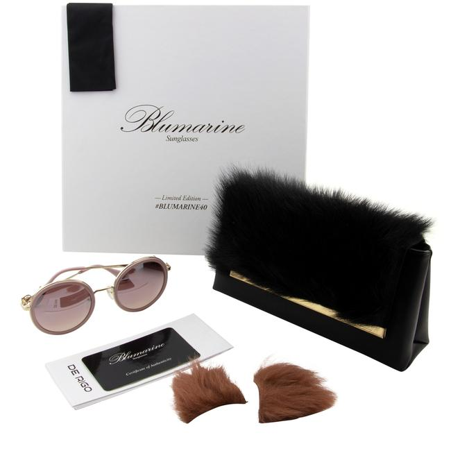 Item - Pink 40th Limited Edition Sbm-109s-300x Round Non-polarized Sunglasses
