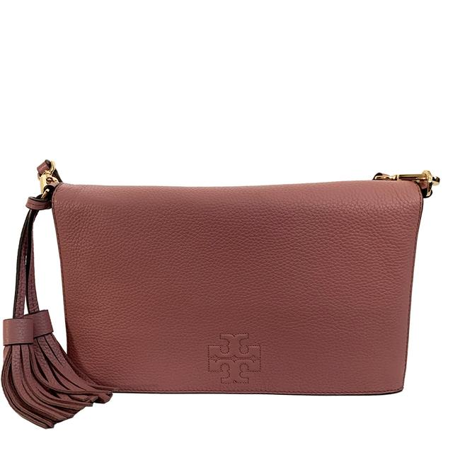 Item - Thea Women's Foldover Combo Pink Leather Cross Body Bag
