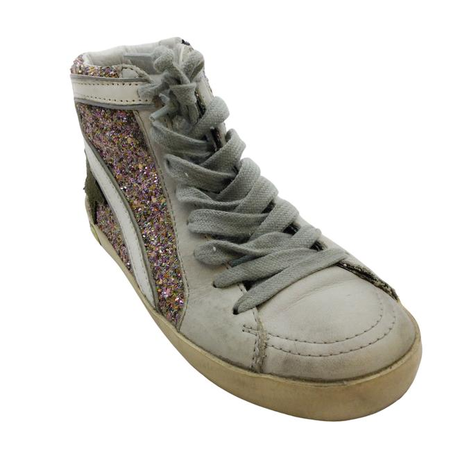 Item - Pink Glitter High Top Children's Sneakers