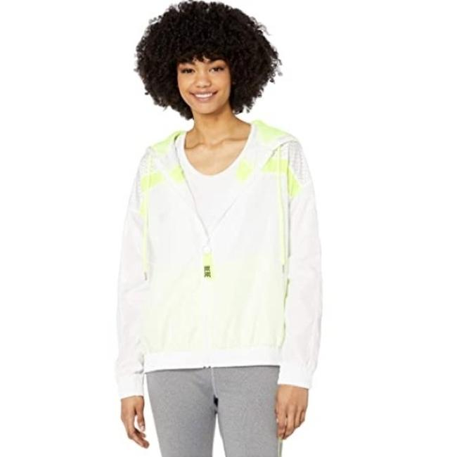 Item - White Perforated Activewear Outerwear Size 8 (M)