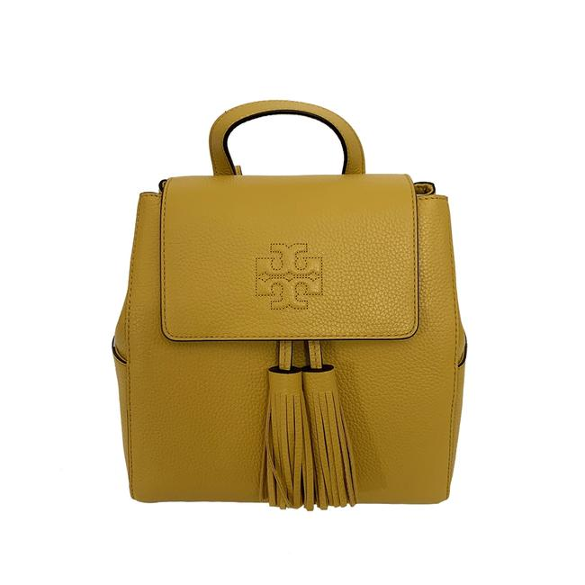 Item - Thea Women's Mini Yellow Leather Backpack