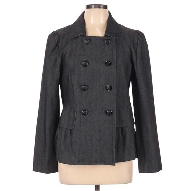 Item - Grey Double Breasted Jacket Size 12 (L)