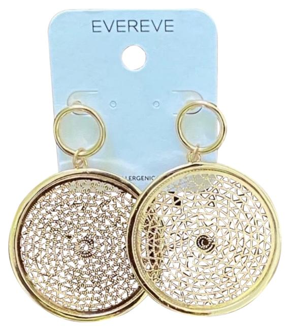 Evereve Gold Earrings Evereve Gold Earrings Image 1