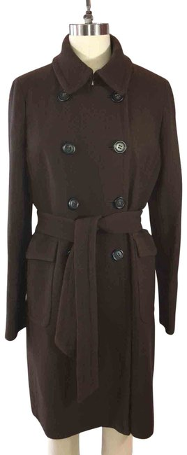 Item - Brown Lady Day Coat Size 10 (M)