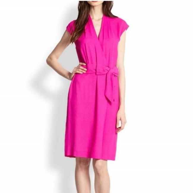 Item - Pink Mid-length Work/Office Dress Size 00 (XXS)