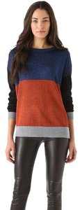 Tibi Sparkle Colorblock Designer Sweater