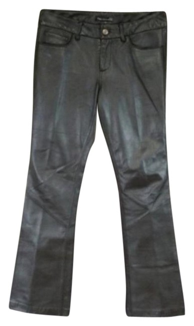 Item - Brown Black Label Sunset Leather Pants Size 4 (S, 27)