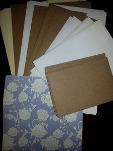 Multicolor Assorted Supplies Paper/Envelopes/Liners