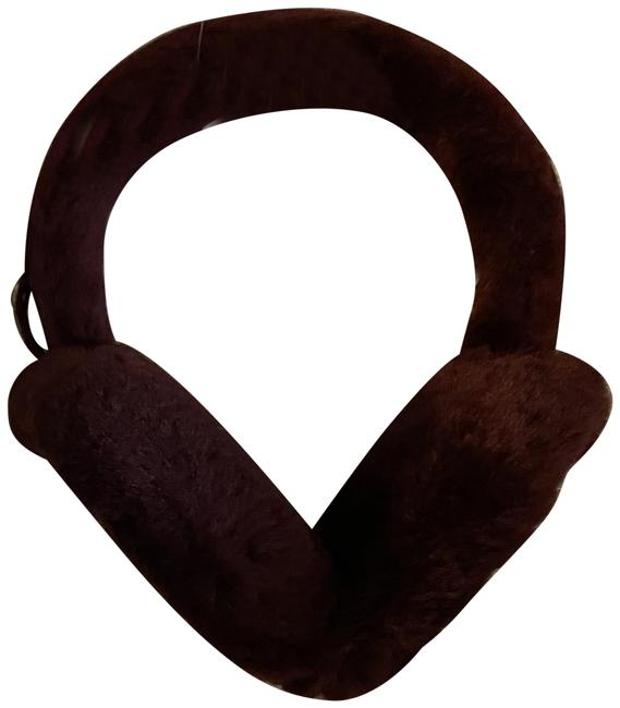 Item - Winetesting Genuine Dyed Shearling Earmuffs. Color: Hat