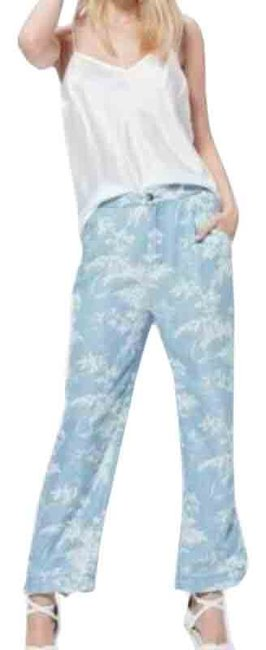 Item - Blue Reeve Floral Tencel Pants Size OS (one size)