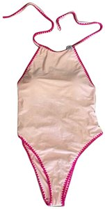 Forever 21 Forever 21 Swimsuit Halter Pink One piece XL