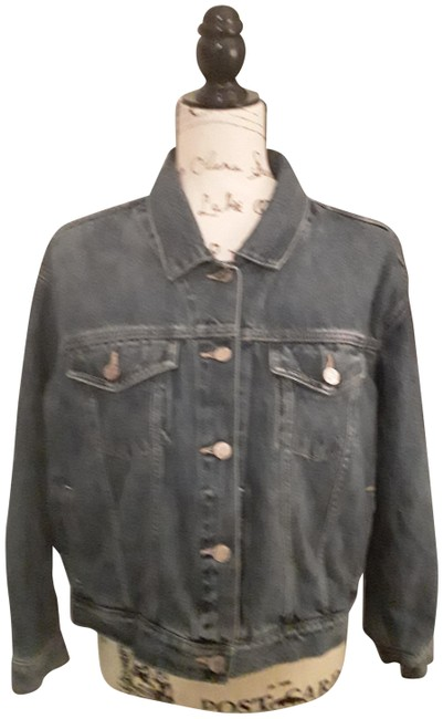 Item - Indigo Blue Jean Jacket Size 16 (XL, Plus 0x)