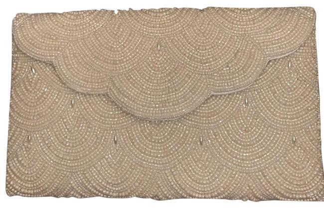 Item - Evening Bag Faux Pearl Ivory Not Sure Clutch