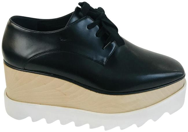 Item - Black Elyse Derby Wedges Platforms Size EU 35 (Approx. US 5) Regular (M, B)