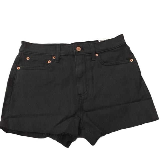 Victoria's Secret Black High Waist Denim (Small) Shorts Size 6 (S, 28) Victoria's Secret Black High Waist Denim (Small) Shorts Size 6 (S, 28) Image 1