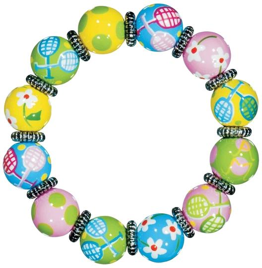 Preload https://item1.tradesy.com/images/angela-moore-tennis-tales-hand-painted-classic-bead-bracelet-2822935-0-0.jpg?width=440&height=440