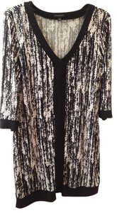 Banana Republic short dress black and white 85%polyester 5% on Tradesy