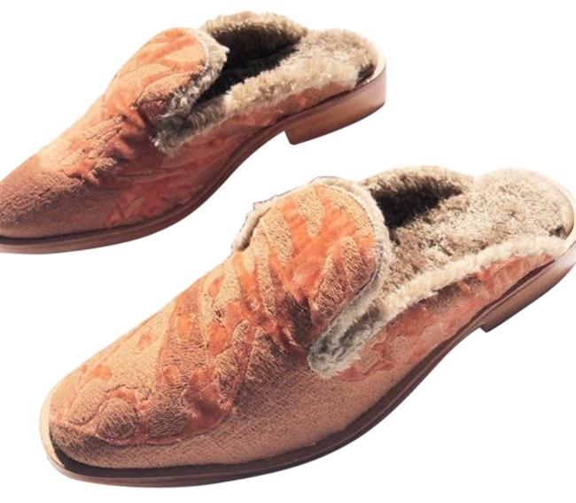 Item - Orange Cream Butterfly Effect Mules/Slides Size US 8 Regular (M, B)