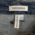 Good American Blue Dark Rinse Waist Crop High Waist Frayed Hem Skinny Jeans Size 20 (Plus 1x) Good American Blue Dark Rinse Waist Crop High Waist Frayed Hem Skinny Jeans Size 20 (Plus 1x) Image 11