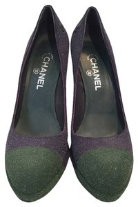 Chanel Blue/green Pumps