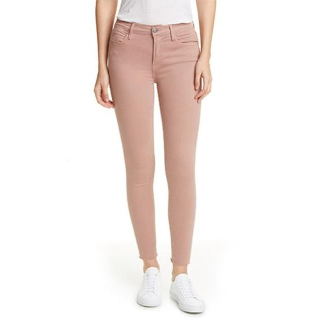 Item - Pink Le High Raw Edge Ankle Skinny Jeans Size 24 (0, XS)