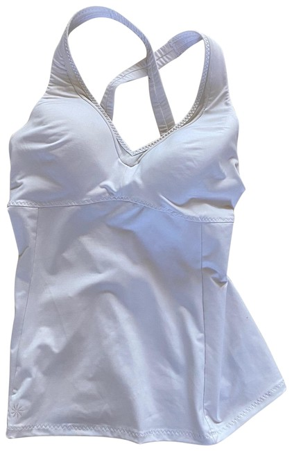 Item - White Like New Tank Small Activewear Top Size 6 (S)