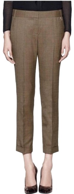 Item - Brown Berkeley Plaid Wool Pants Size 6 (S, 28)