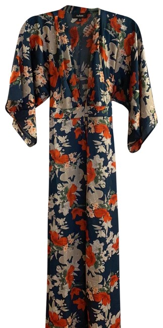 Item - Floral - Aakaa Long Casual Maxi Dress Size 6 (S)