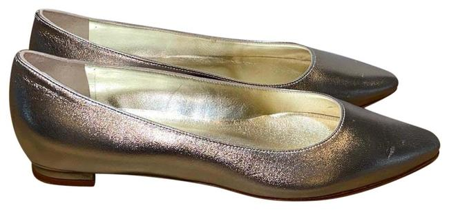 Item - Metallic Ballet Flats Size EU 36 (Approx. US 6) Regular (M, B)