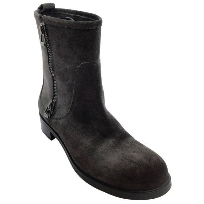 Item - Charcoal Grey Suede Ankle Boots/Booties Size EU 39.5 (Approx. US 9.5) Regular (M, B)