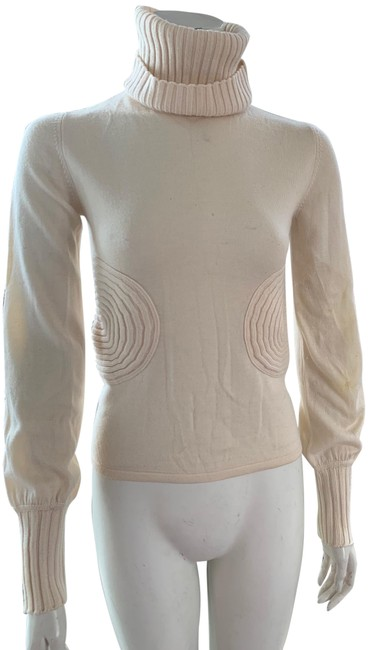 Item - Turtle Neck Cream Sweater