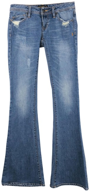 Item - Blue Cypress Style In Light Alley Flare Leg Jeans Size 25 (2, XS)