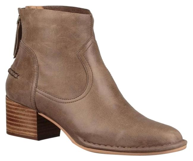 Item - Brown Bandara Ankle Leather Boots/Booties Size US 6 Regular (M, B)