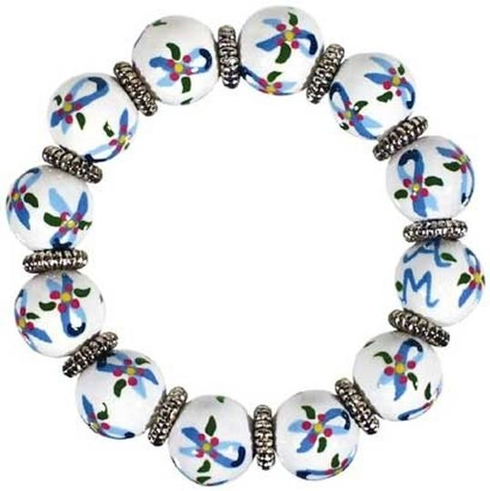 Preload https://item1.tradesy.com/images/angela-moore-ovarian-ribbon-classic-hand-painted-bracelet-2823385-0-0.jpg?width=440&height=440