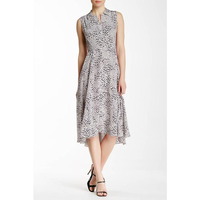 Item - Pink Leopard In Pearl Mid-length Casual Maxi Dress Size 10 (M)