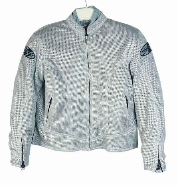 Item - Gray / Silver Protective Jacket Size 8 (M)