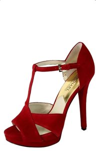 Michael by Michael Kors Red Sandals