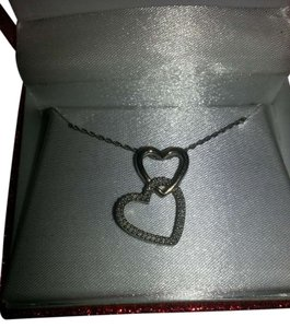 Double Heart Romance Necklace