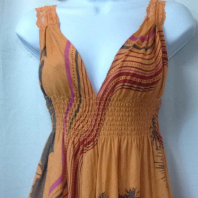 Orange Maxi Dress by Other