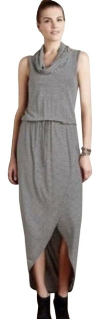 Item - Black and White Cowl Neck Sleeveless Long Casual Maxi Dress Size 4 (S)