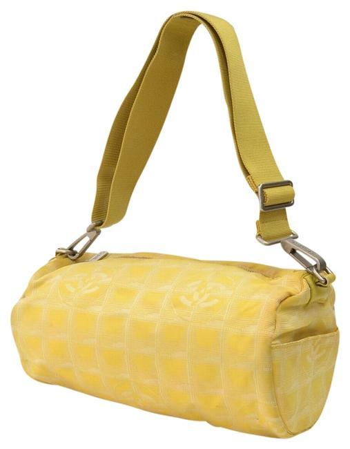 Item - Made In Italy Xc16973 Yellow Canvas Shoulder Bag