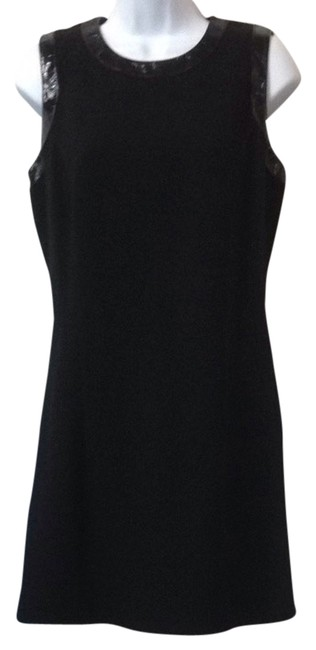Preload https://item4.tradesy.com/images/ellen-tracy-black-for-neiman-marcus-patent-leather-sheath-mid-length-night-out-dress-size-4-s-2823688-0-0.jpg?width=400&height=650