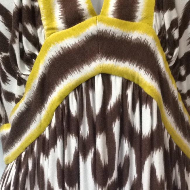 BROWN/YELLOW Maxi Dress by MILLY