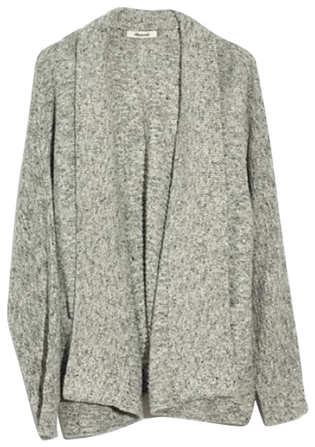 Item - Gray Harbor Sweater In Marled Canvas Cardigan Size 00 (XXS)