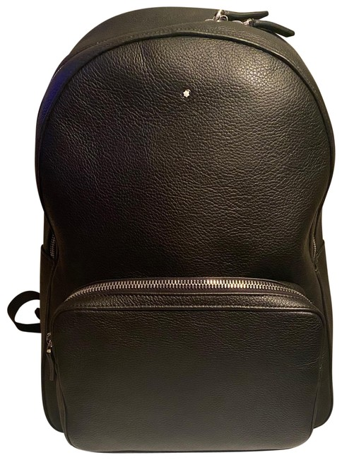 Item - Sartorial Collection Small Dome 116751 Black Leather Backpack