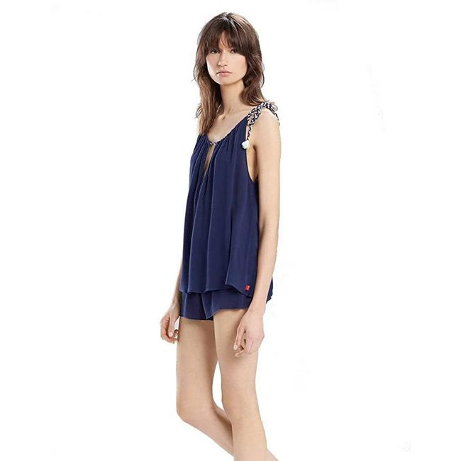 Item - Blue XS Natori Sweet Melody Camisole Lingerie Navy New Tank Top/Cami Size 0 (XS)