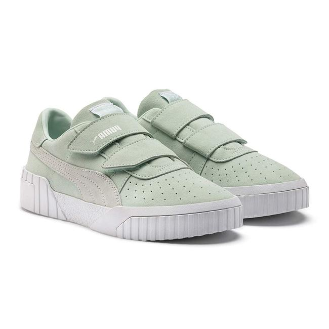 Item - Green Cali Velcro Selena Gomez Womens Sneakers Size US 6.5 Regular (M, B)