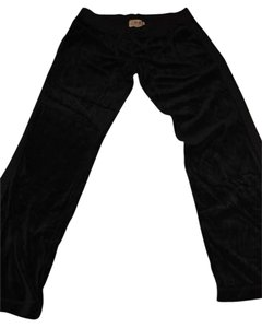 Juicy Couture Relaxed Pants Black velour